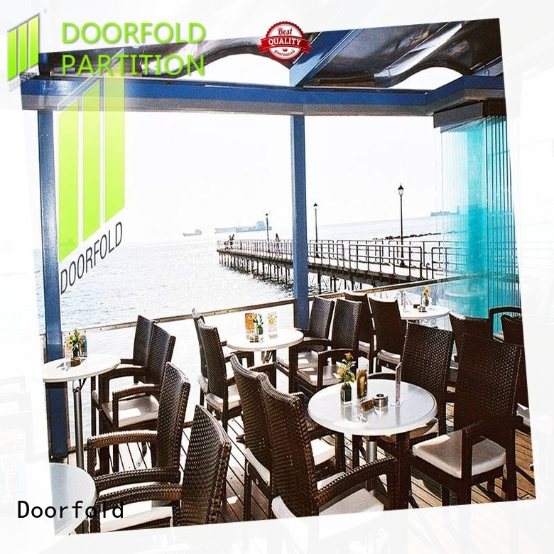 commercial portable partition glass for restaurant