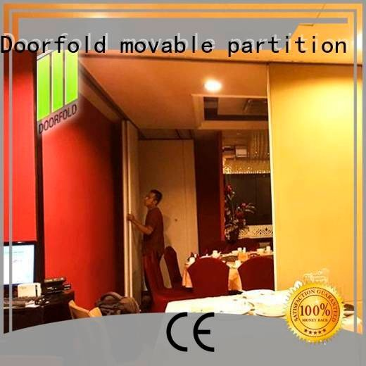 Doorfold movable partition Brand partition wall commercial partition walls acoustic divider