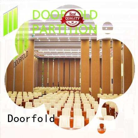 Doorfold partition operable wall order