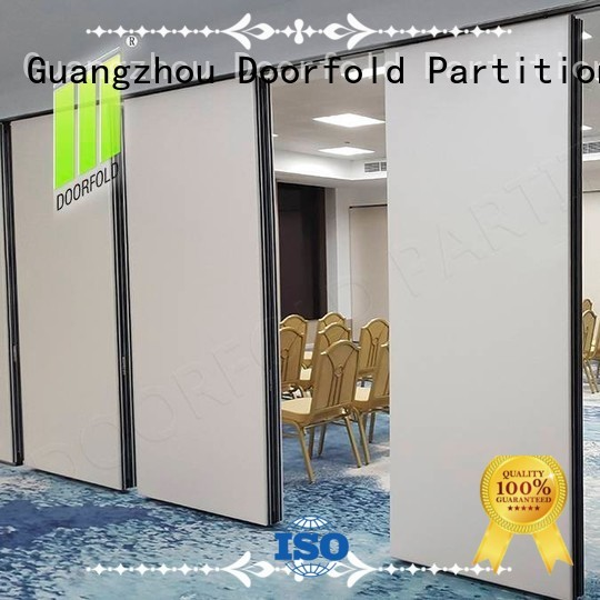 Doorfold acoustic operable wall order for conference