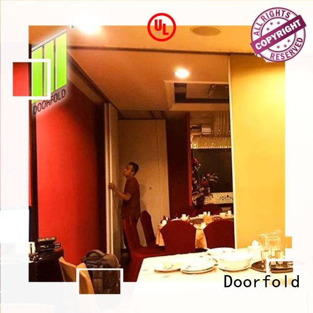 Doorfold Sliding Partition for Commercial Room for restaurant