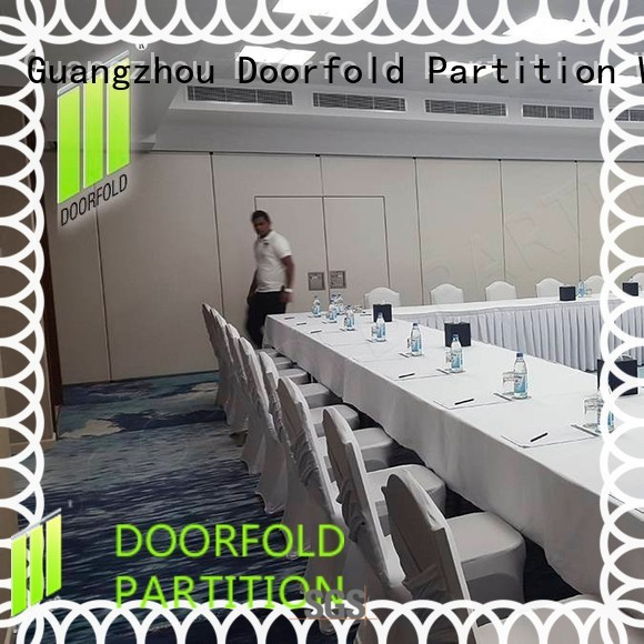 golden sliding top selling sliding partition wall Doorfold movable partition