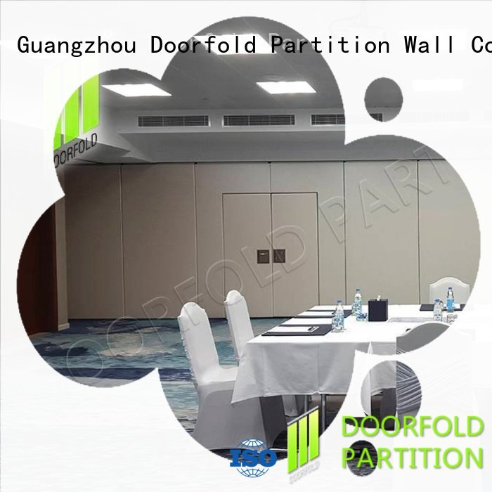 commercial interior sliding partition doors wall for meeting room Doorfold