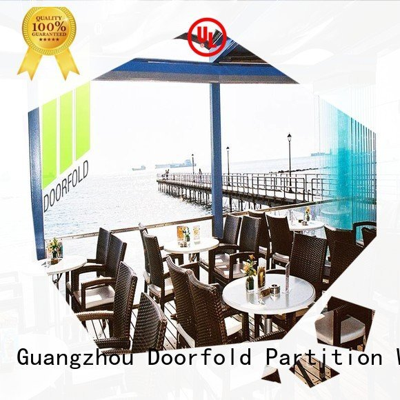 frameless glass partition walls for office panels glass partition wall Doorfold movable partition Brand movable