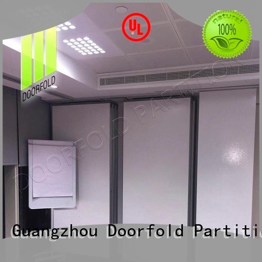 Wholesale acoustic flexible sliding partition wall Doorfold movable partition Brand