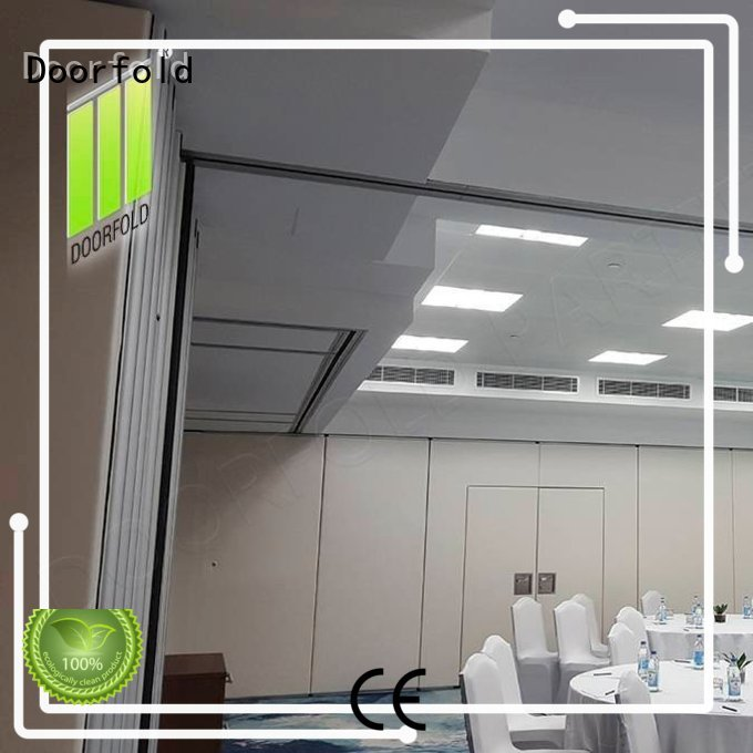 sound foldable soundproof partition wall multi-functional for conference room Doorfold