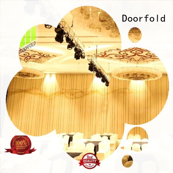 Doorfold operable room partition wall hot-sale for meeting room