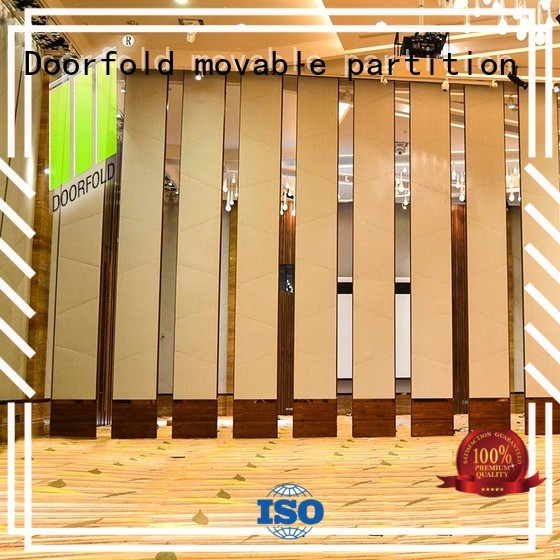 plaza sliding glass partition walls seafood Doorfold movable partition company