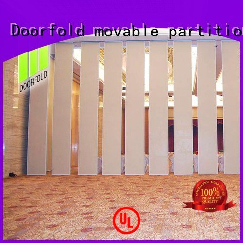 sliding glass partition walls partition flexible sliding folding partition Doorfold movable partition Brand