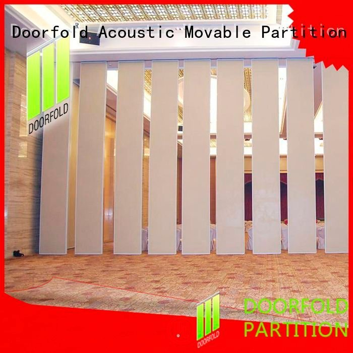 Doorfold movable partition Brand sliding sliding glass partition walls partition flexible