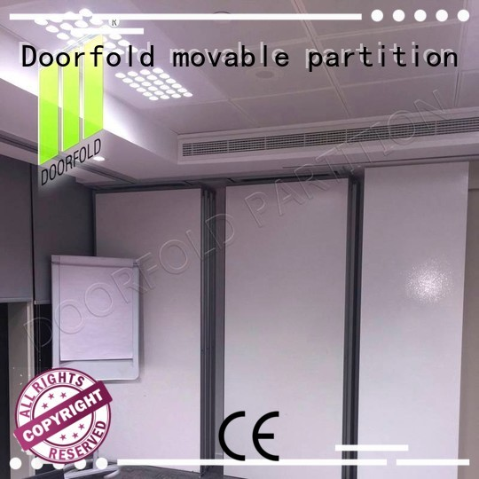 bay forture soundproof OEM sliding partition wall Doorfold movable partition
