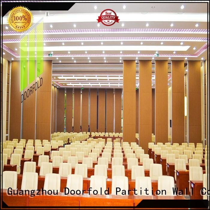 folding room acoustic Doorfold movable partition operable wall