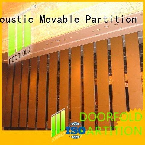 Doorfold movable partition Brand retractable marriott acoustic partition saudi partitions