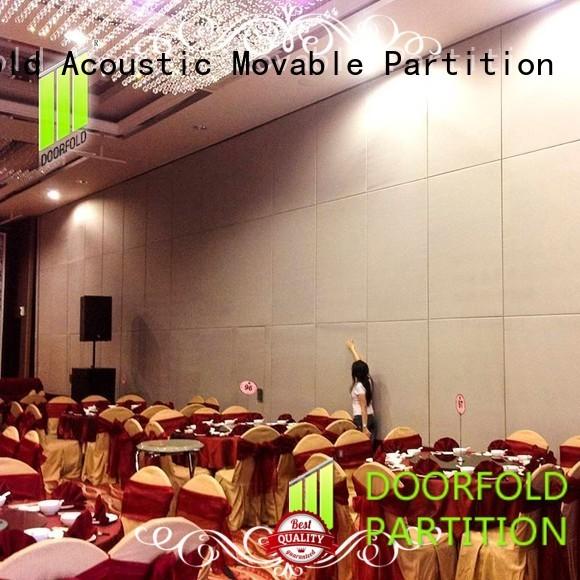 Doorfold sliding folding partition high-end for restaurant