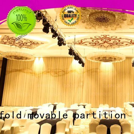 Doorfold movable partition hotel acoustic movable partitions partitions partition