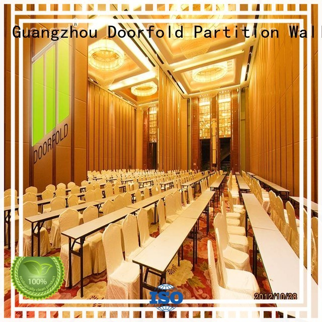 Doorfold top brand hall partition customization for college