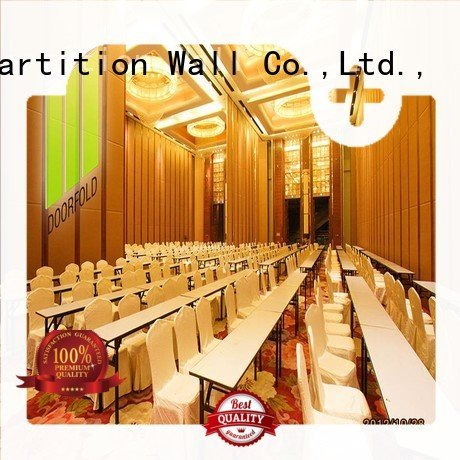 acoustic folding commercial partition walls Doorfold movable partition Brand