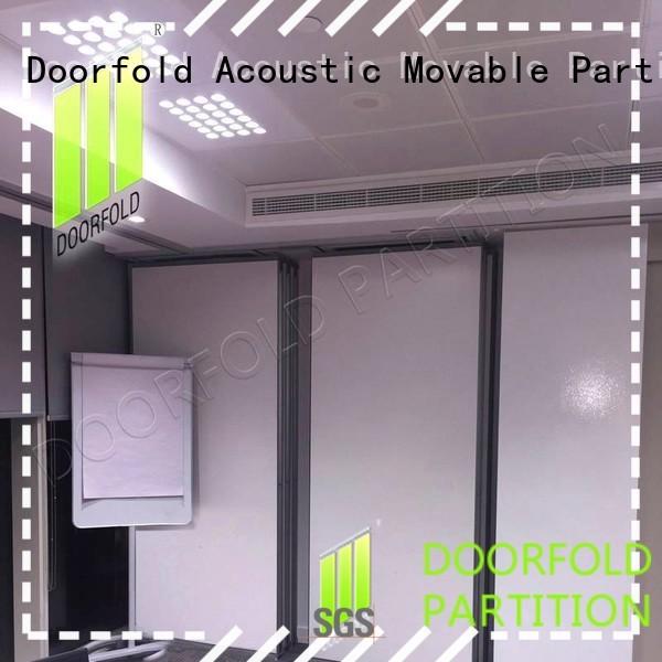 Doorfold acoustic sliding partition free design for restaurant