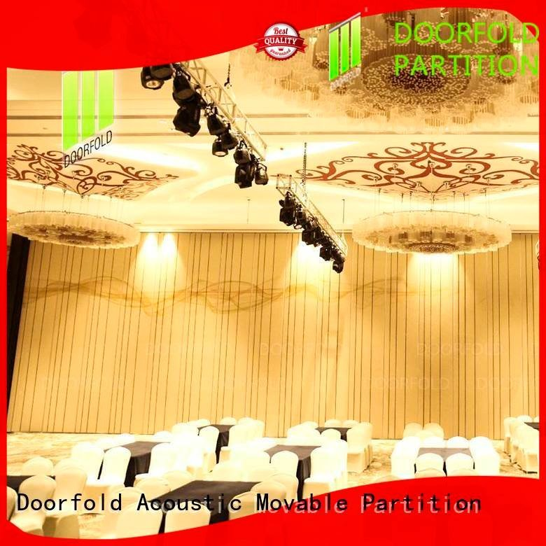 Doorfold movable partition Brand flexible lan acoustic movable partitions operable retractable