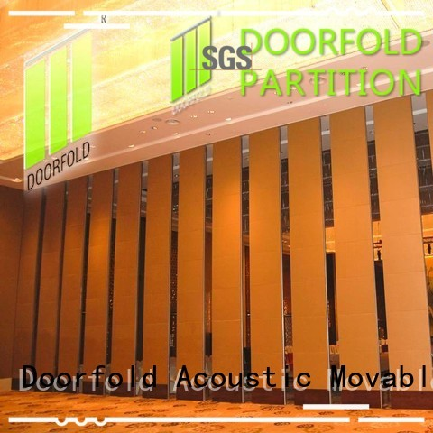 Doorfold movable room partitions cheap at discount for restaurant