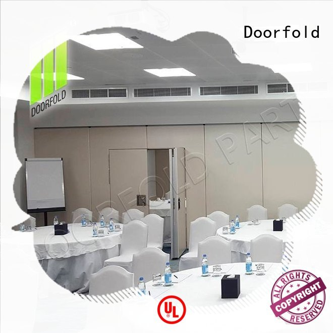 Doorfold soundproof office partitions multi-functional for theater