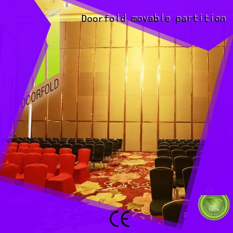 lan retractable Doorfold movable partition acoustic movable partitions