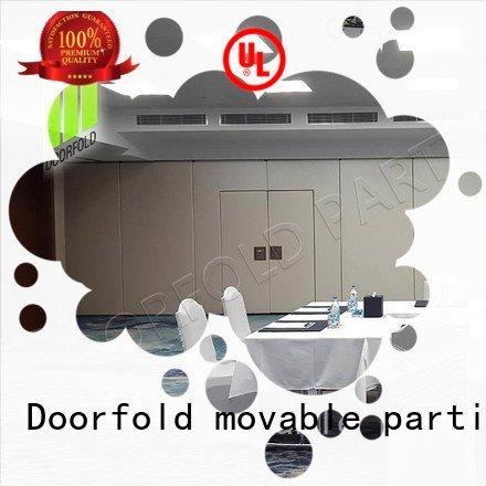Doorfold movable partition sliding folding partition walls meeting room divider sliding