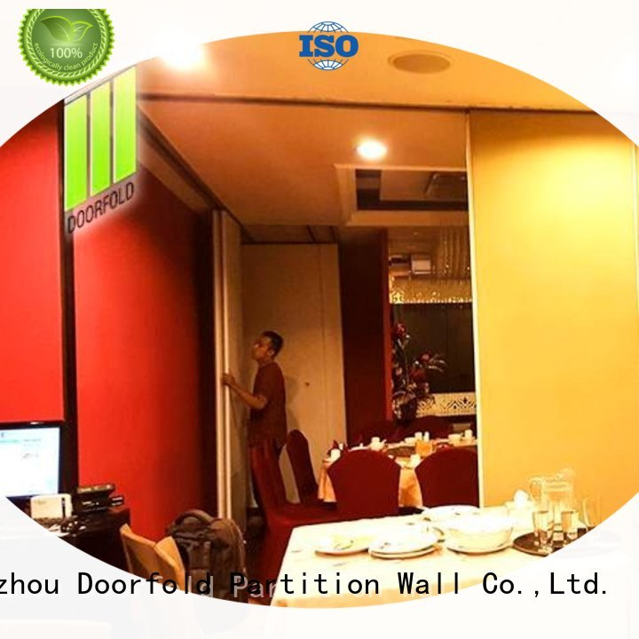 Doorfold commercial room dividers fast delivery for restaurant