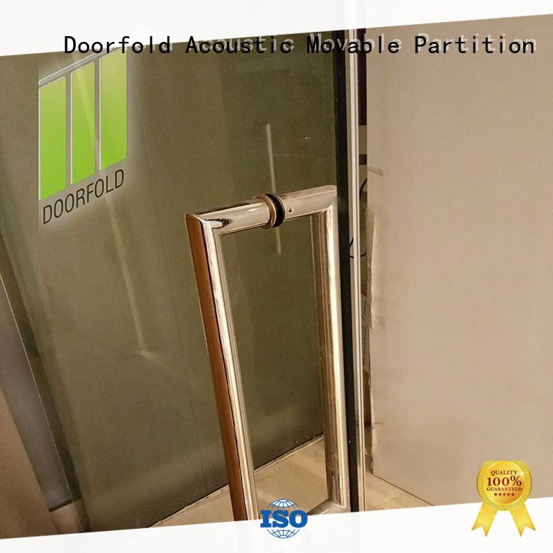 Doorfold commercial glass office partitions glass