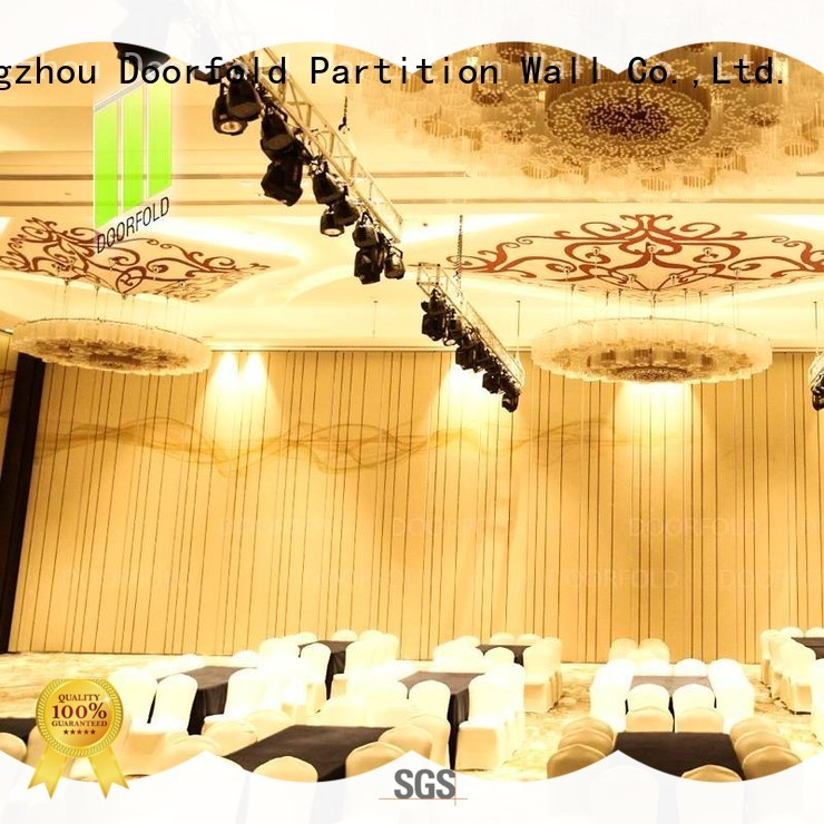 acoustic acoustic sliding folding partition fast delivery for conference