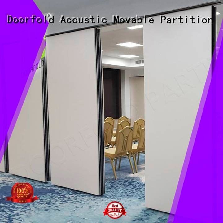 Doorfold movable partition Brand movable meeting folding operable wall partition