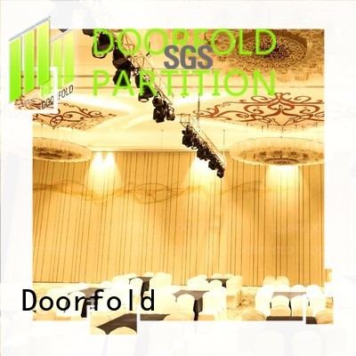 Doorfold operable Hotel ballroom Movable Walls fast delivery for office