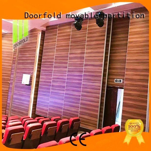 sliding folding partitions movable walls acoustic movable walls Doorfold movable partition
