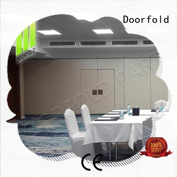Doorfold conference sliding folding partitions movable walls wall for office