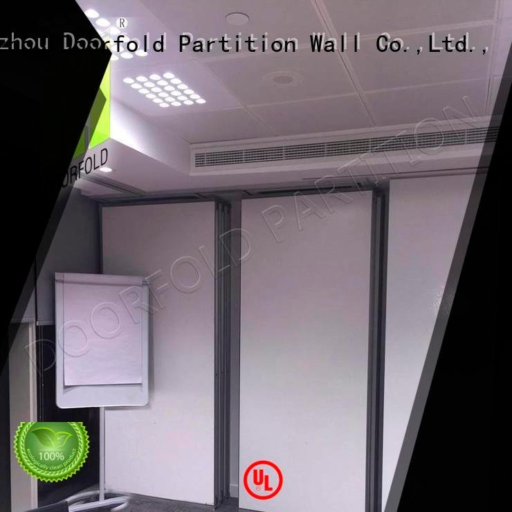 Doorfold movable partition divider sliding operable sliding office partitions wall
