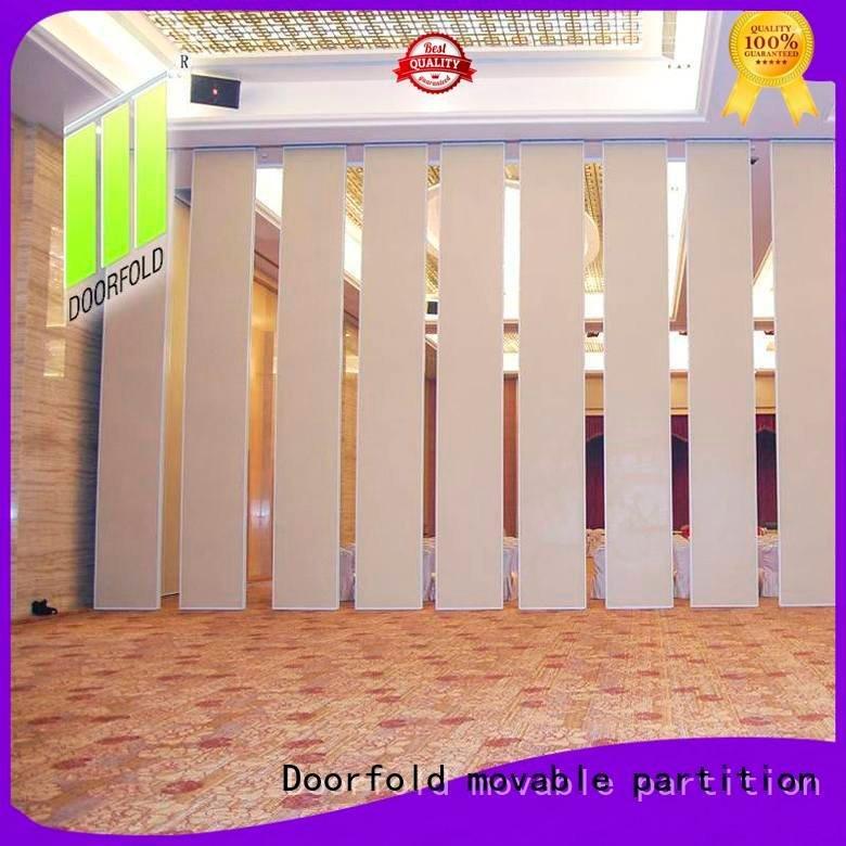 Doorfold movable partition sliding folding partition retractable international flexible hotel