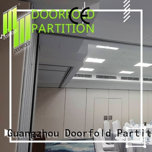 collapsible soundproof partition wall custom for meeting room