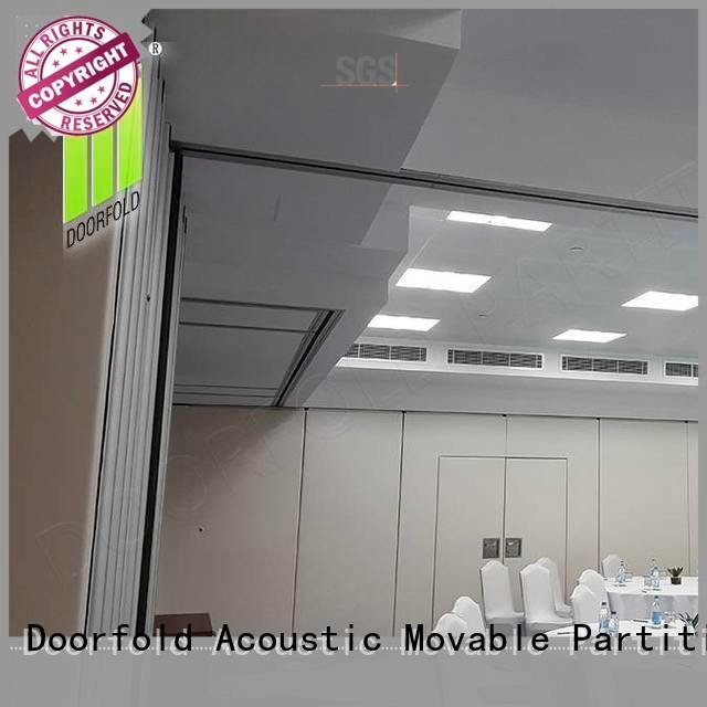 Hot soundproof folding walls soundproof soundproof office partitions retractable Doorfold movable partition