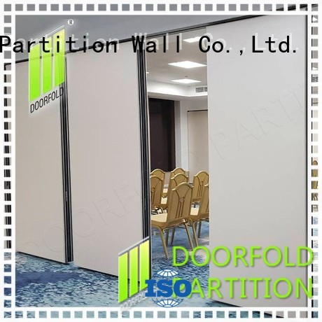 Doorfold custom portable office partitions decorative