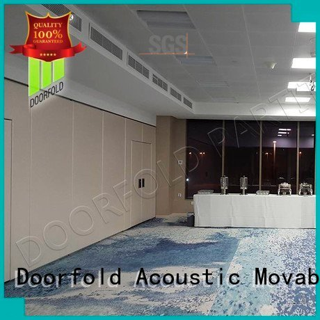 Doorfold movable partition flexible commercial sliding folding partition acoustic international