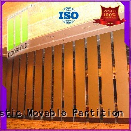 Doorfold movable partition haikou acoustic movable partitions mecca partitions