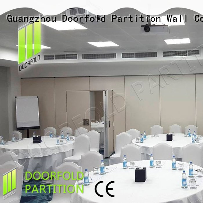 room soundproof partition wall for meeting room Doorfold