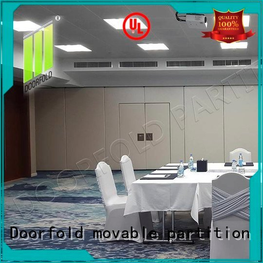 Doorfold movable partition Brand conference divider meeting sliding folding partition walls