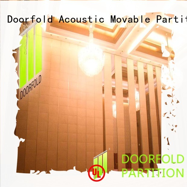 Doorfold movable partition acoustic movable acoustic walls sliding folding partitions partition for conference