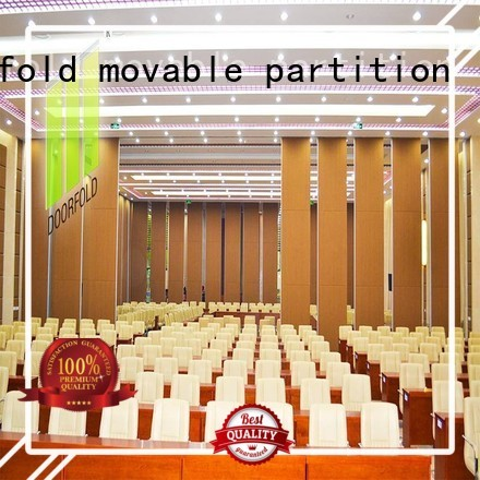 Wholesale commercial operable walls price Doorfold movable partition Brand