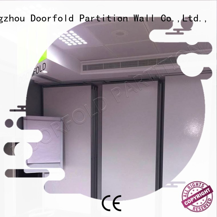 popular partitions OEM sliding partition wall Doorfold movable partition