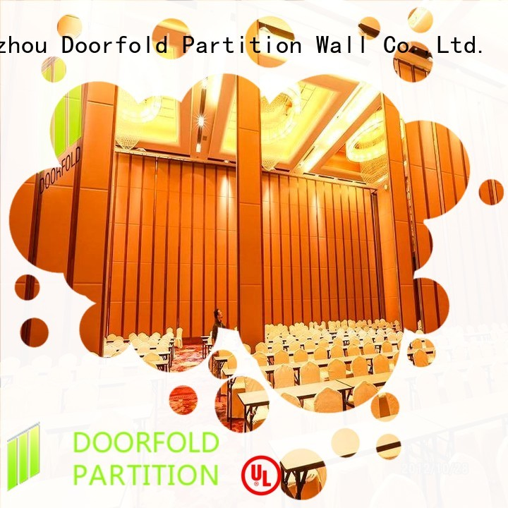 Doorfold hot sale cool room dividers customization for college