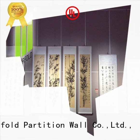 Hot sliding folding partitions movable walls theater panels partition Doorfold movable partition Brand