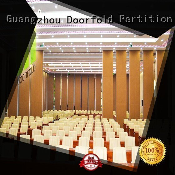 acoustic operable wall Doorfold movable partition operable walls price