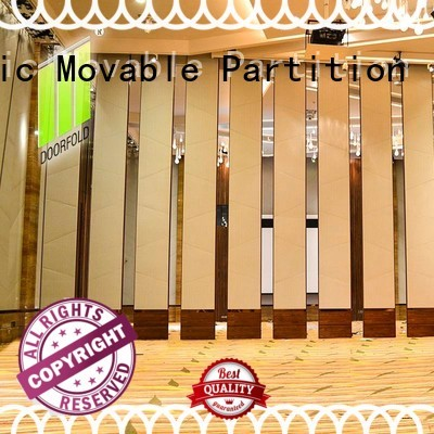 Doorfold international Sliding Partition Wall for Hotel wall for office